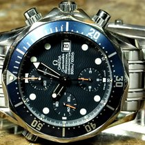 Omega Seamaster Chronograph Automatic 41mm Blue Wave Dial