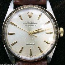 Rolex Vintage Rare 1963 Explorer Oyster Perpetual Precision...