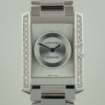 Concord Delirium, Mens, 18K White Gold, Diamond Bezel, 60.C6.1460