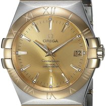 Omega 123.20.35.20.08.001 Constellation Men Co-Axial 35MM Gold...