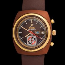 Enicar Mantagraph In Brown Pvd Steel