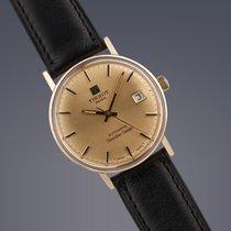 Tissot Seastar Seven 9ct yellow gold automatic watch