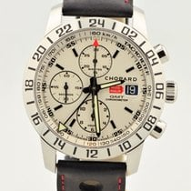 Chopard Mille Milia Chronograph Gmt Stainless Steel White Dial...