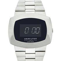 Hamilton Pulsomatic 48 Automatic Black Digital Dial