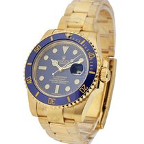 Rolex Used 116618_used Submariner Yellow Gold with Ceramic...
