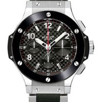 Hublot Big Bang Stainless Steel Carbon Fiber Black Ceramic...