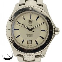 TAG Heuer Link Calibre 5 Wj201b 42mm Automatic Steel  W/ Box...