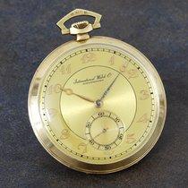 IWC 1930's 14K oversized keyless dress watch, Breguet...