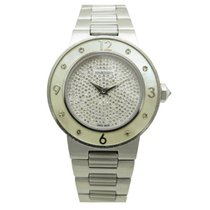 Mauboussin amour le jour se leve 9112100 31 mm acier diamants...