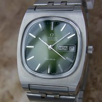 Omega Geneve 1968 Vintage Swiss Made Men's Stainless Steel...