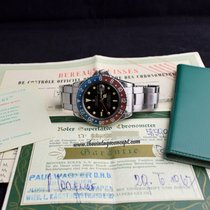 Rolex 1675 GMT Master Gilt Dial with Double Punched Papers