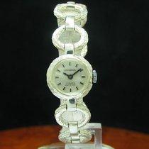 Dugena 835 Silber Handaufzug Damenuhr Silberuhr / Dugena 2519