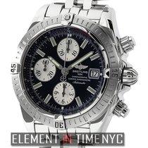 브라이틀링 (Breitling) Chronomat Evolution Stainless Steel Black...