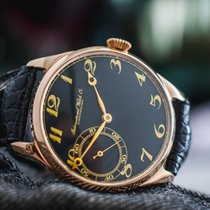 IWC Schaffhausen marriage watch 14k rose gold c.1917