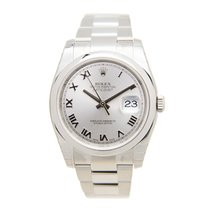 Rolex Datejust Stainless Steel Silver Automatic 116200GYRN