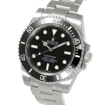 ロレックス (Rolex) Submariner No Date Ceramic Bezel Steel 40MM...