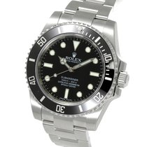 롤렉스 (Rolex) Submariner No Date Ceramic Bezel Steel 40MM...