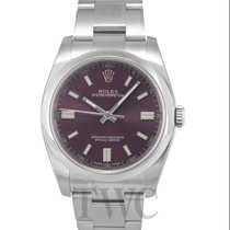 ロレックス (Rolex) Oyster Perpetual Purple/Steel 36mm - 116000