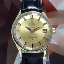 Omega Turler Constellation 18K Pie Pan Dial Automatic