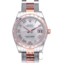 Rolex Datejust 31 White MOP Steel/18k Rose Gold Dia 31mm - 178341