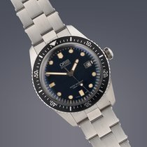 Oris Heritage Divers Sixty Five stainless steel automatic watch