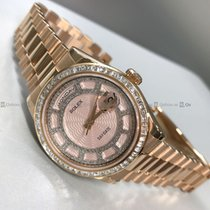 Rolex - Day Date 118395BR Customized Diamond Bazel and Dial  R/G
