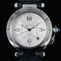 Cartier Pasha 2379 Steel Automatic 38 mm
