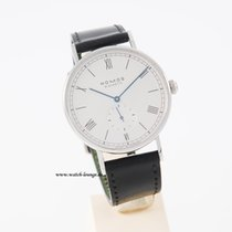 Nomos Ludwig Automatik Sphirglasboden unworn box and papers