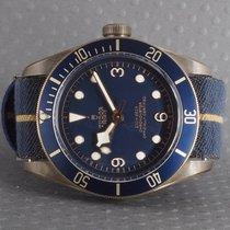 Tudor Black Bay Bronze Blue Bucherer Edition