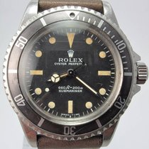 Rolex 1963 Submariner Pointed Guard Unpolished Service Dial