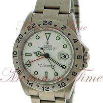Rolex Explorer II 40mm, White Dial - Stainless Steel on Bracelet