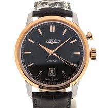 Vulcain 50s Presidents' Watch 42 Pink Gold Greystone