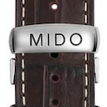 Mido Multifort Lederband 23mm M600012102