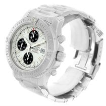 Breitling Colt Automatic Chronograph White Dial Watch A13388...