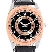 Rolex Cellini Danaos 18k White And Rose Gold Watch 4243 Box...