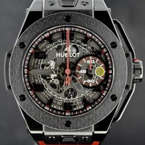 Hublot Big Bang Ferrari Ceramic All Black 45MM, Full Set 2014...