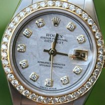 Rolex 18k Gold & Steel Ladies Datejust Watch Papers...