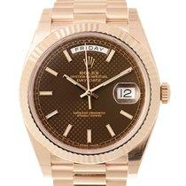 勞力士 (Rolex) Day-date 18k Rose Gold Brown Automatic 228235BRDEC...
