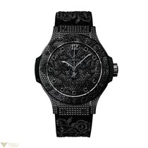 Hublot Big Bang Broderie All Black Diamond Stainless Steel...