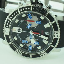 Ulysse Nardin Maxi Marine Diver Stainless Steel Chronograph...