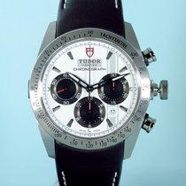 Tudor Fastrider Chronograph Index weiß Leder LC 100 - NEU