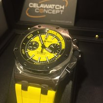 Audemars Piguet Yellow Diver Royal Oak Offshore Chronograph