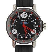 B.R.M Racing Watch Auto 44m Auto Rotor Quartz Hybrid Black...