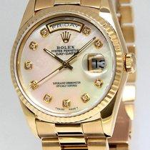 롤렉스 (Rolex) Day-Date President 18k Yellow Gold MOP Diamond...