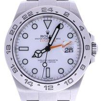 ロレックス (Rolex) Explorer Ii 216570 42 Millimeters White Dial...