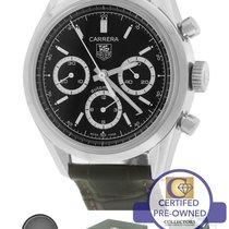 TAG Heuer Carrera CV2113-0 Automatic Chronograph 39mm Black Watch