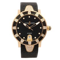 Ulysse Nardin Lady Diver Diamond 18K Rose Gold Limited Edition