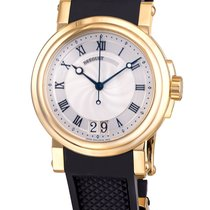 Breguet Marine Big Date Automatic 18k Yellow Gold 5817BA/12/9V8