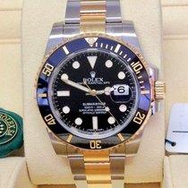 Rolex Submariner Date Black Dial  Steel/Gold ref. 116613LN