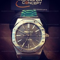 Audemars Piguet Royal Oak Black Dial Steel 41mm [New]